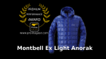 Montbell Ex Light Down Anorak Review