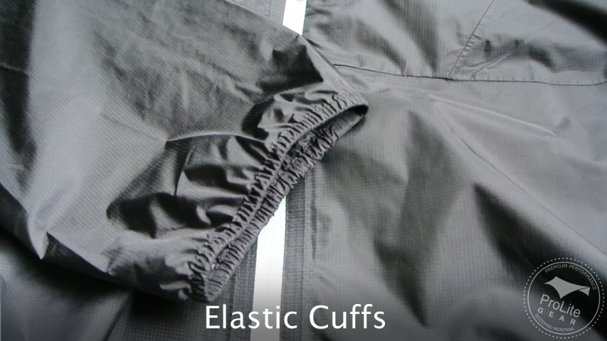 Patagonia Alpine Houdini does not have an adjustable cuffs
