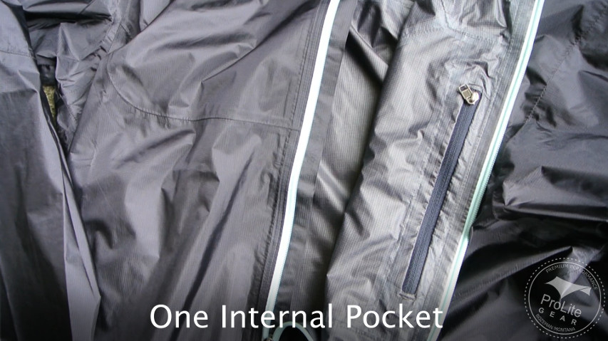 Patagonia Alpine Houdini does not have an external pocket