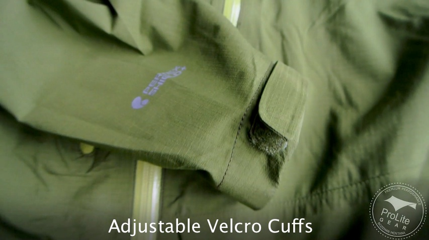 Rab Spark Velcro Adjustable Cuffs