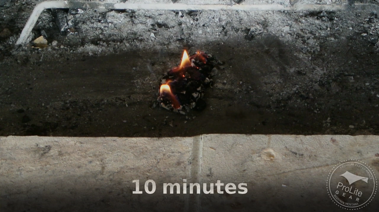 Clean Flame Rapid Fire 10 minute burn time