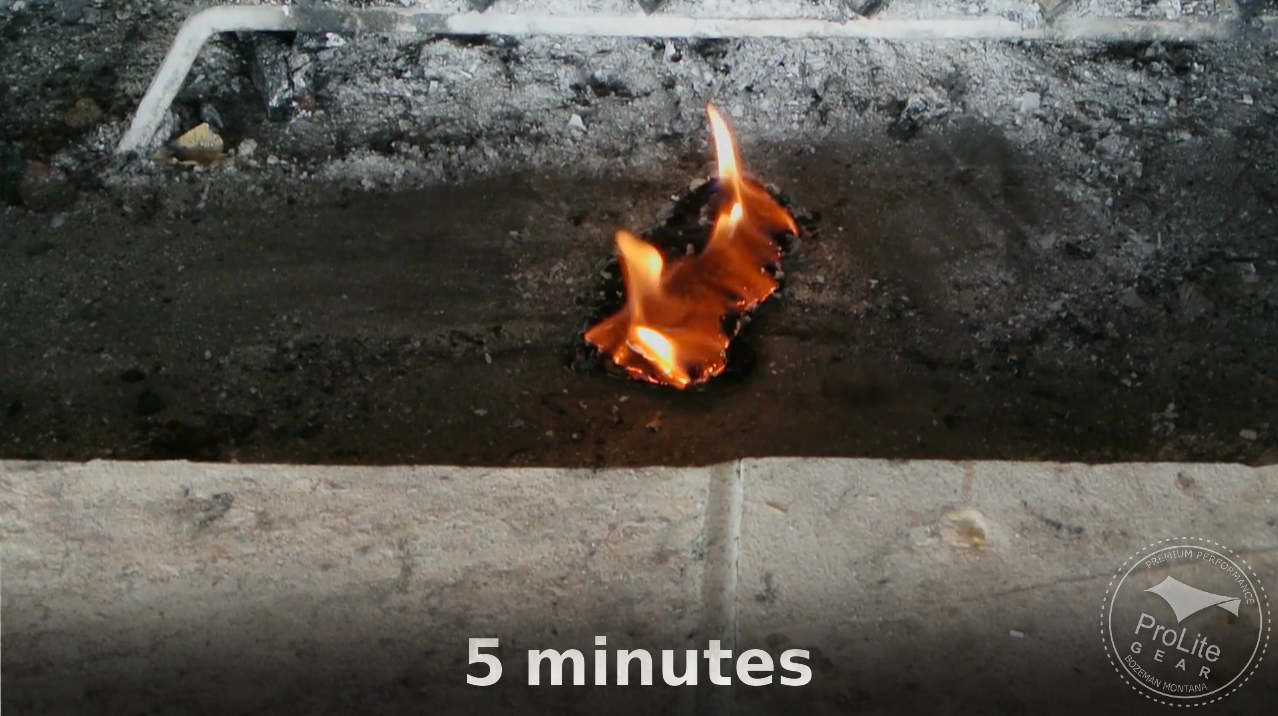 Clean Flame Rapid Fire 5 minute burn time