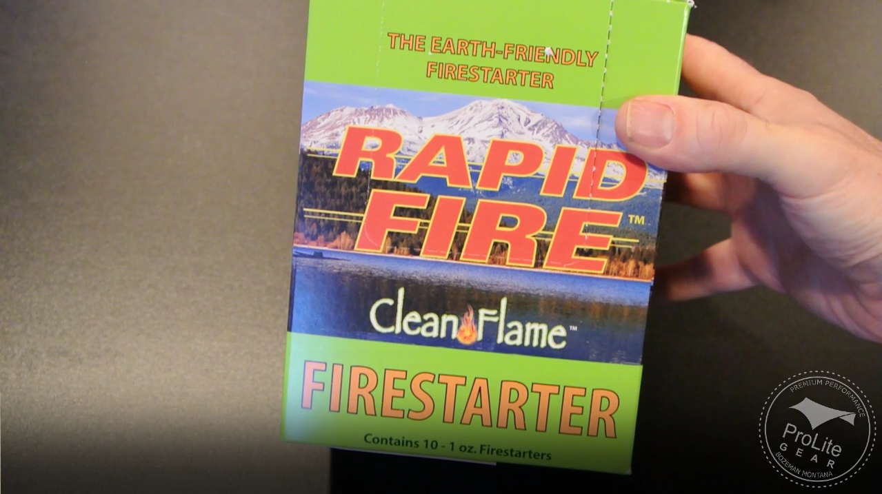 Clean Flame Rapid Fire Box Of 10