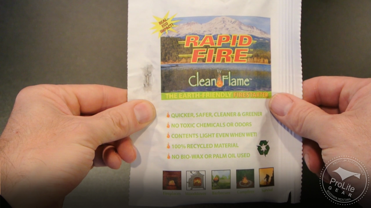 Clean Flame Rapid Fire Package