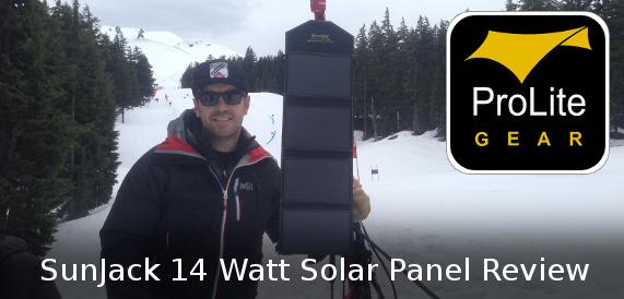 SunJack 14W Solar Panel