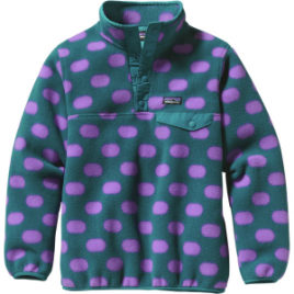 Patagonia Lightweight Synchilla Snap-T Pullover Fleece Jacket – Girls'