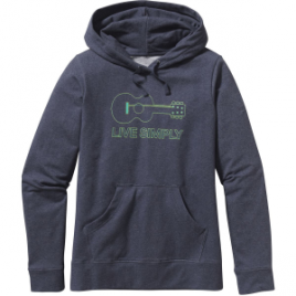 Patagonia Live Simply Guitar Midweight Pullover Hoodie – Women's