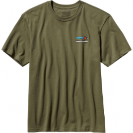 Patagonia Glacier Waves Cotton T-Shirt – Short-Sleeve – Men's