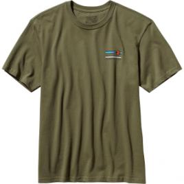 Patagonia Glacier Waves Cotton T-Shirt – Short-Sleeve – Men's
