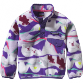 Patagonia Lightweight Synchilla Snap-T Fleece Pullover – Toddler Girls'