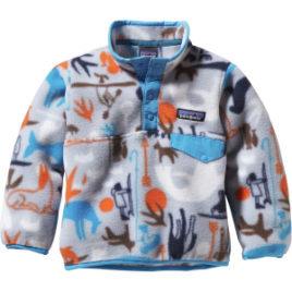 Patagonia Lightweight Synchilla Snap-T Fleece Pullover – Toddler Boys'