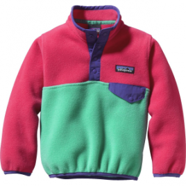 Patagonia Lightweight Synchilla Snap-T Fleece Pullover – Infant Girls'