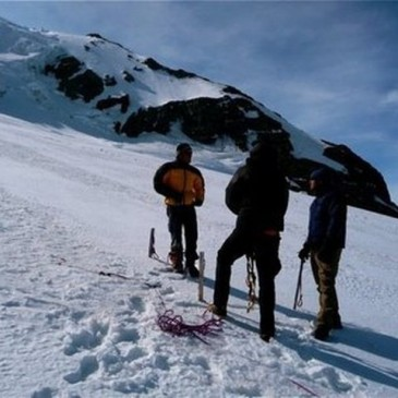 Mountain Rainier climb