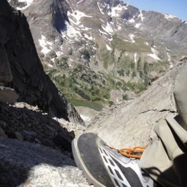 Climbing Whitetail Peak, MT
