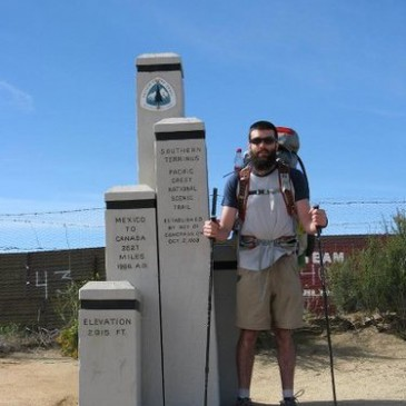 Vince has begun his trip on the Pacific Crest Trail