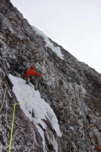 Classic Hyalite Ice Climb, Winter Dance.
