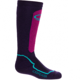 Icebreaker Snow Mid Over The Calf Sock – Girls'