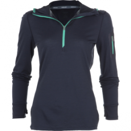 Icebreaker Terra Half-Zip Hooded Shirt – Long-Sleeve – Women's