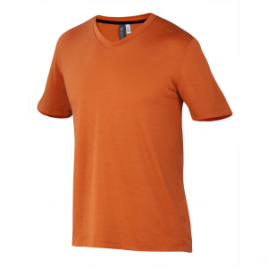Ibex Axis V-Neck Shirt – Short-Sleeve – Men's