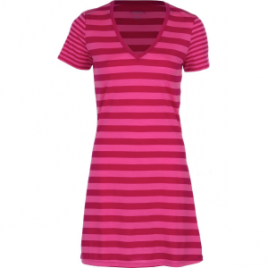 Icebreaker Tech Lite Stripe V-Neck Dress – Women's