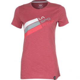 La Sportiva Stripe Logo T-Shirt – Short-Sleeve – Women's