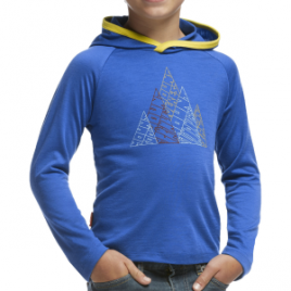 Icebreaker Tech Hood Five Peaks Sweatshirt – Toddler Boys'