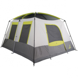 ALPS Mountaineering CampCreek Two Room Tent: 6-Person 3-Season