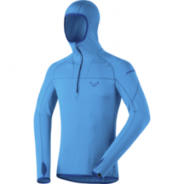 Dynafit Transalper Thermal 1/2-Zip Hooded Shirt – Long-Sleeve – Men's