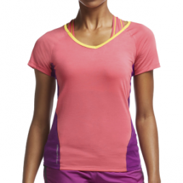 Icebreaker Spark V-Neck Shirt – Short-Sleeve – Women's