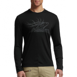 Icebreaker Tech Lite Antler MTN Shirt – Long-Sleeve – Men's