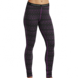 Icebreaker Vertex Icon Fairisle Leggings – Women's