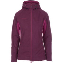 Mammut Niva Hooded Fleece Midlayer Jacket – Women's