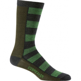 Icebreaker Lifestyle Bisect UltraLight Crew Sock – Men's