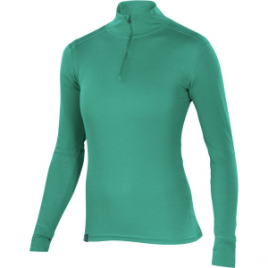 Ibex Woolies 150 Zip-Neck Top – Women's