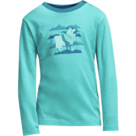 Icebreaker Tech Crewe Merino Top – Long-Sleeve – Girls'