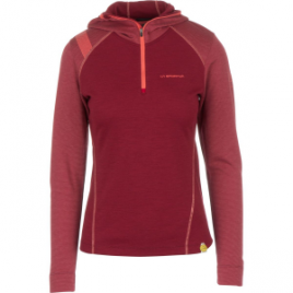 La Sportiva Saturn Hooded Zip-Neck Top – Women's