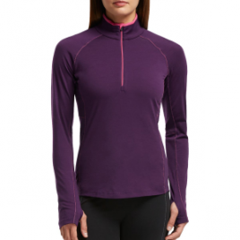 Icebreaker Zone 1/2-Zip Shirt – Long-Sleeve – Women's