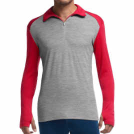 Icebreaker BodyFit 260 Tech Zip-Neck Top – Men's