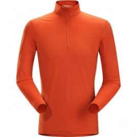 Arc'teryx Phase SL Zip-Neck Top – Long-Sleeve – Men's