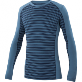 Ibex Woolies 2 Stripe Crew Top – Men's