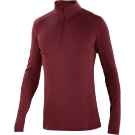 Ibex Woolies 2 Zip-Neck Top – Men's