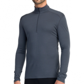 Icebreaker BodyFit 200 Oasis Zip-Neck Top – Men's
