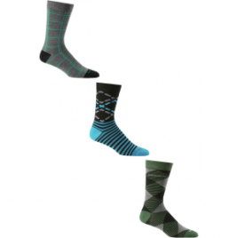 Icebreaker Lifestyle Fine Gauge Crew Socks – 3-Pack – Men's