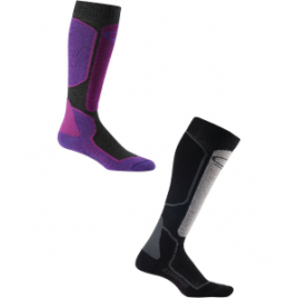 Icebreaker Plus Light Over The Calf Sock Ski Socks – Women's