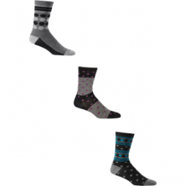 Icebreaker Lifestyle Crew Fine Gauge Socks – 3-Pack – Women's