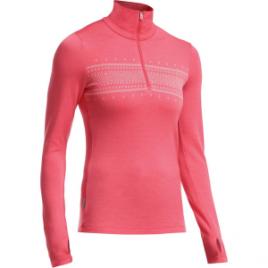 Icebreaker Tech 1/2-Zip Fair Isle Sweater – Women's