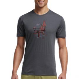 Icebreaker Tech Lite Logo Crew – Short-Sleeve – Men's