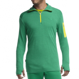 Icebreaker BodyFit 260 Apex Zip-Neck Top – Men's