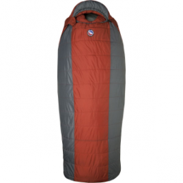 Big Agnes Whiskey Park Sleeping Bag: 0 Degree Synthetic