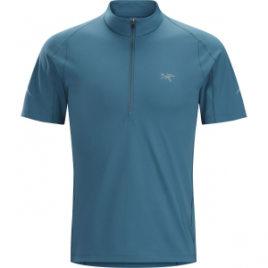 Arc'teryx Accelerator Zip-Neck Shirt – Short-Sleeve – Men's